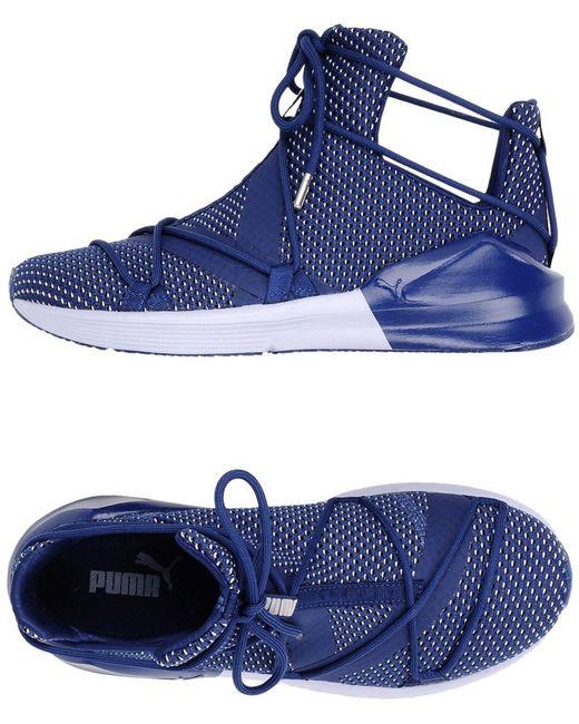 PUMA Men's Gray High-tops & Sneakers