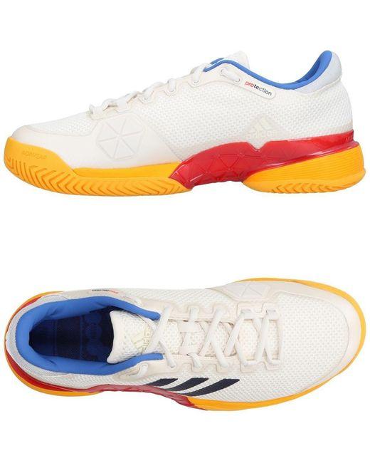 adidas Men's White Low-tops & Sneakers