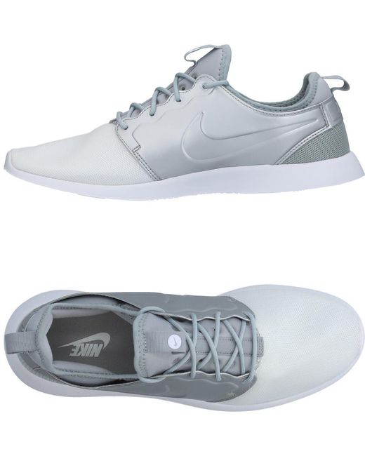 Nike Men's Gray Low-tops & Sneakers