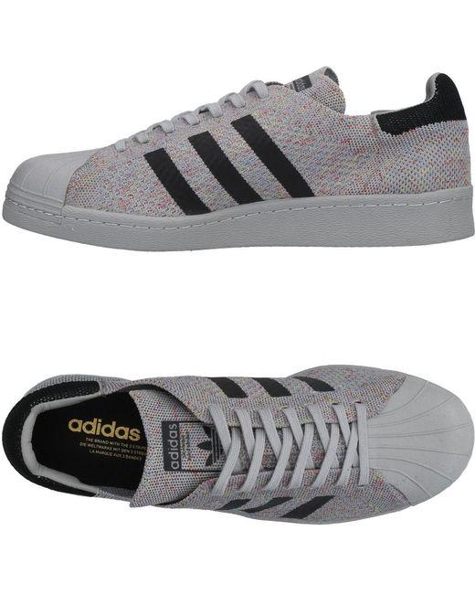 adidas Originals Men's Gray Low-tops & Sneakers