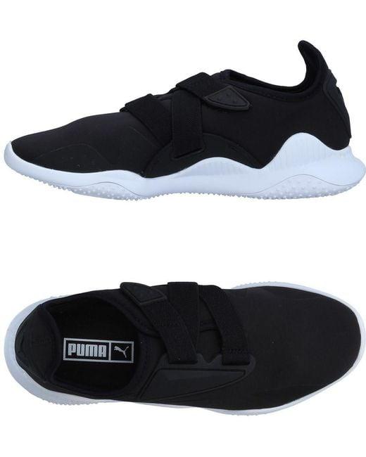 PUMA Men's Black High-tops & Sneakers