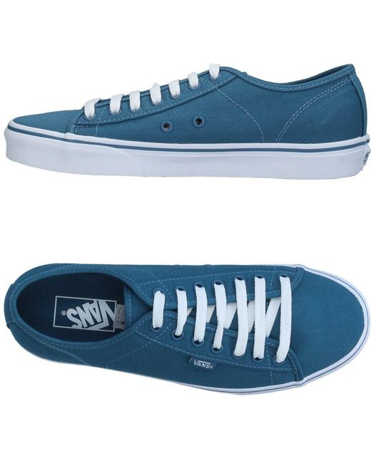 Vans Men's Blue Low-tops & Sneakers