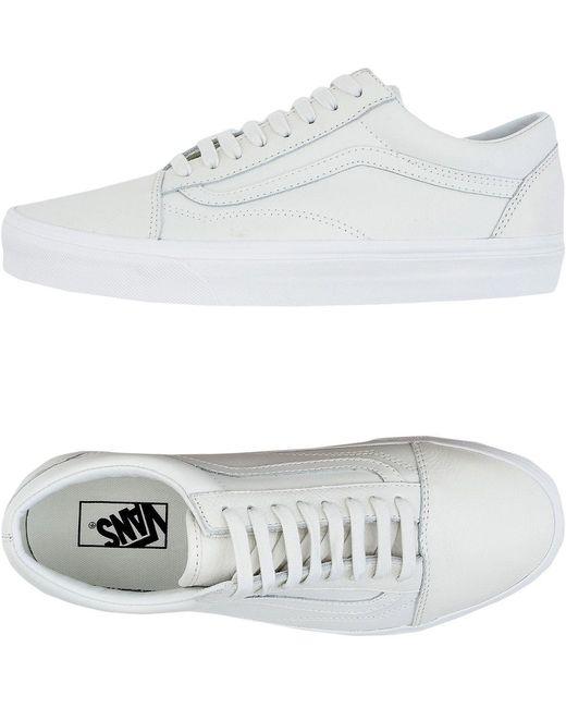 Vans Men's Pink Low-tops & Sneakers