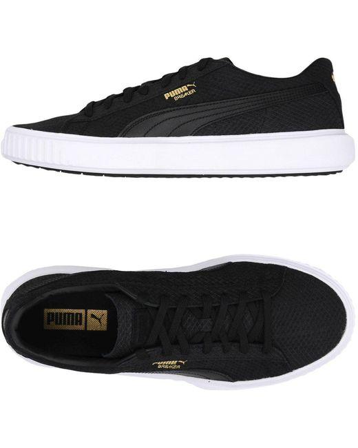 PUMA Men's Black Low-tops & Sneakers