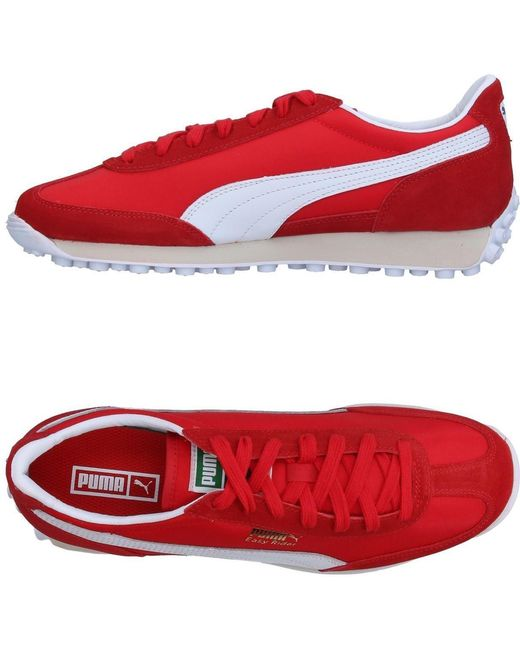PUMA Men's Red Low-tops & Sneakers