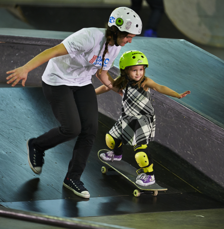 Photo: Courtesy of Skate Like A Girl