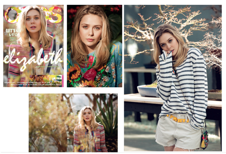 ELIZABETH OLSEN for ASOS Magazine