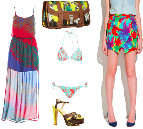 On the hunt for: Tropical everything