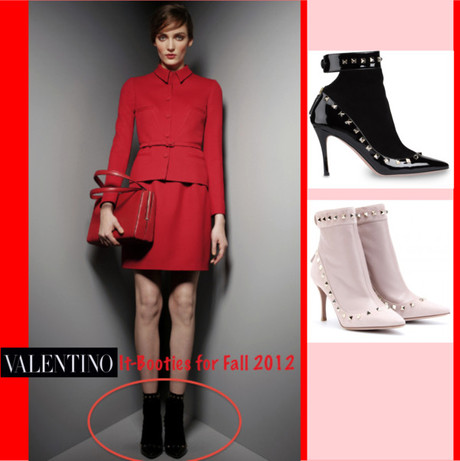 Valentino's It-Booties for Fall 2012