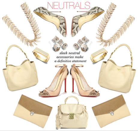 {trends} Neutral Colors Make a Statement