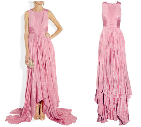 Wishlist: Oscar de la Renta Washed Satin Gown