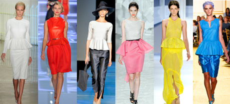Pep School: the Peplum Trend