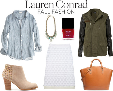 Girly Edge ~ Lauren Conrad Fall Fashion
