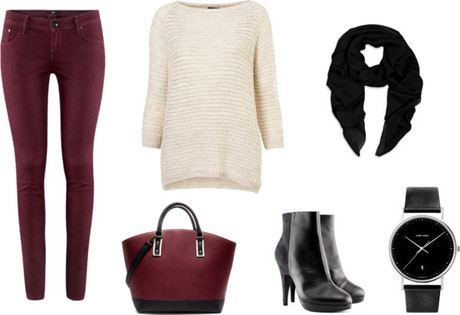 SET | Bordeaux Style for Fall
