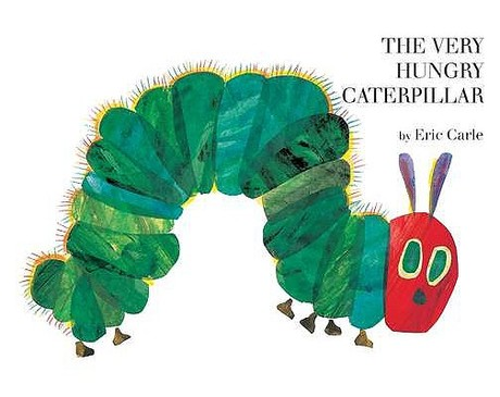Literary Fashion: The Very Hungry Caterpillar by Eric Carle
