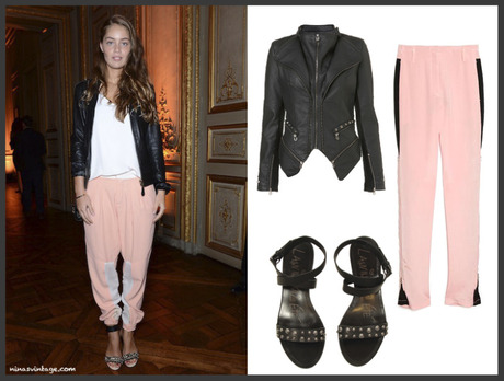 LOOK OF TONIGHT: PINK TROUSERS