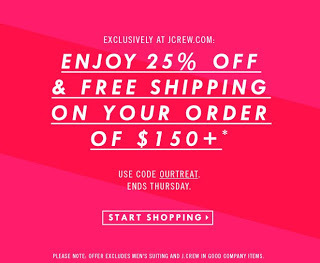 J.Crew: New Promo-Priced Items & Markdowns Plus An Extra 25% Off - OURTREAT