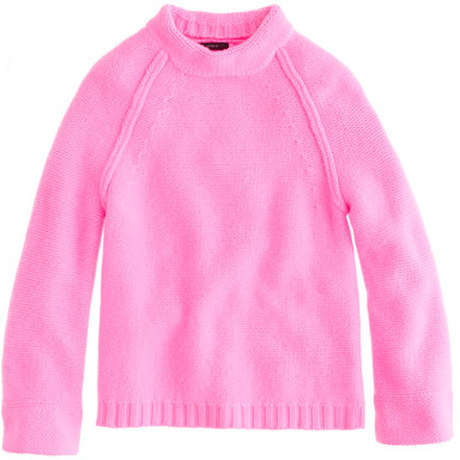 the coziest, happiest sweater ever: J.Crew's cashmere...