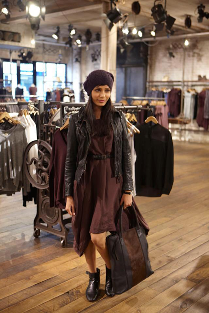 Freida Pinto at All Saints