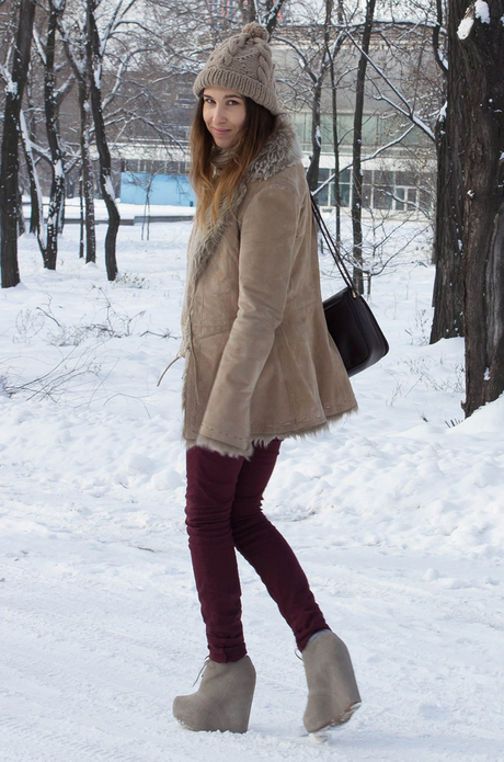 burgundy winter
