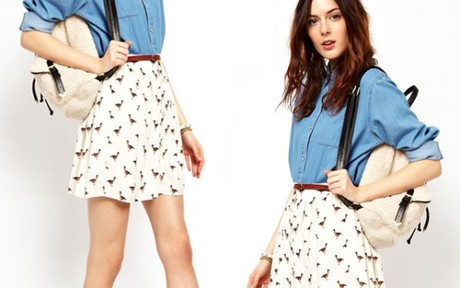 Stretch Your Wardrobe! Get More Outfit Choices With The Essential Skater Skirt Trend