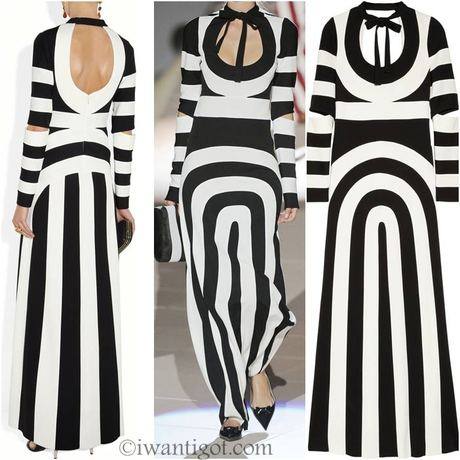 i want: Striped Maxi Dress by Marc Jacobs