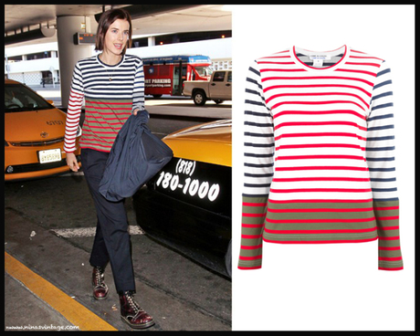 LOOK OF THE DAY: Striped Tshirt