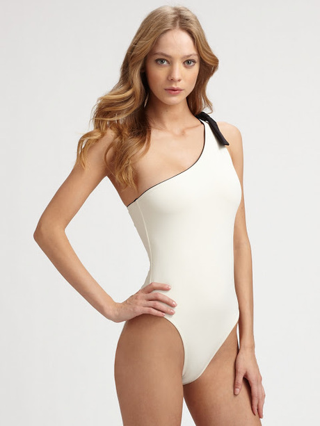 Asymmetrical Swimsuit