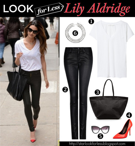 Celebrity Look for Less - Lily Aldridge