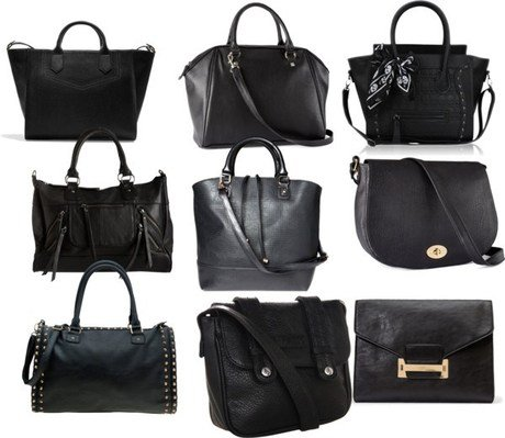 Affordable Black Handbags : Under $50