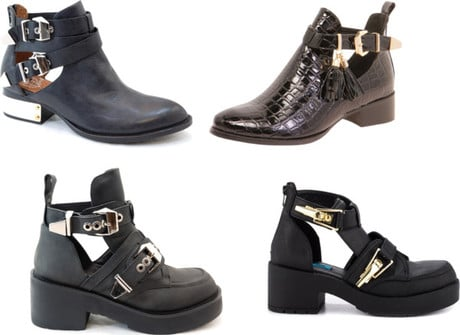 Stylish Find: Jeffrey Campbell Cut Out Ankle Boots