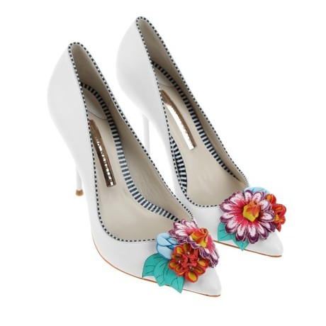 Shoe of the Moment: Liza Flower Pump by Sophia Webster