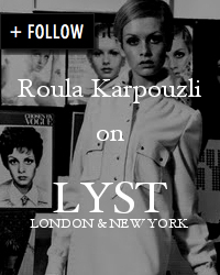 Follow Roula Karpouzli's fashion picks on Lyst
