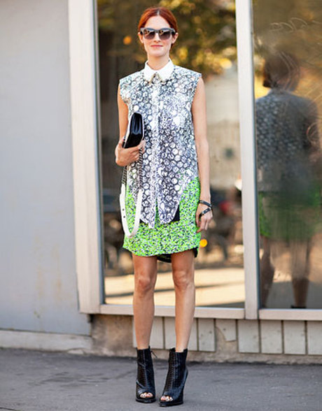 Taylor Tomasi Hill's Paris Fashion Week Style