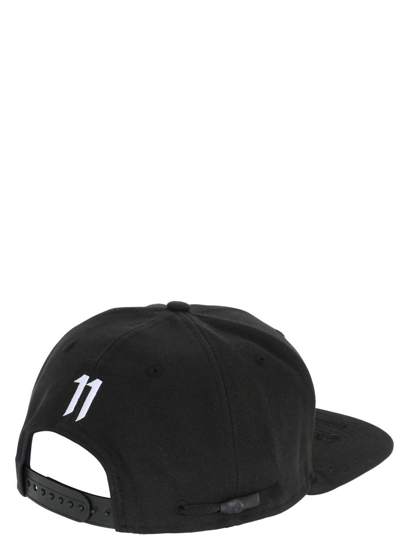 Lyst - Boris Bidjan Saberi 11 Logo Embroidered Canvas Baseball Hat ... 637fc90ebc5