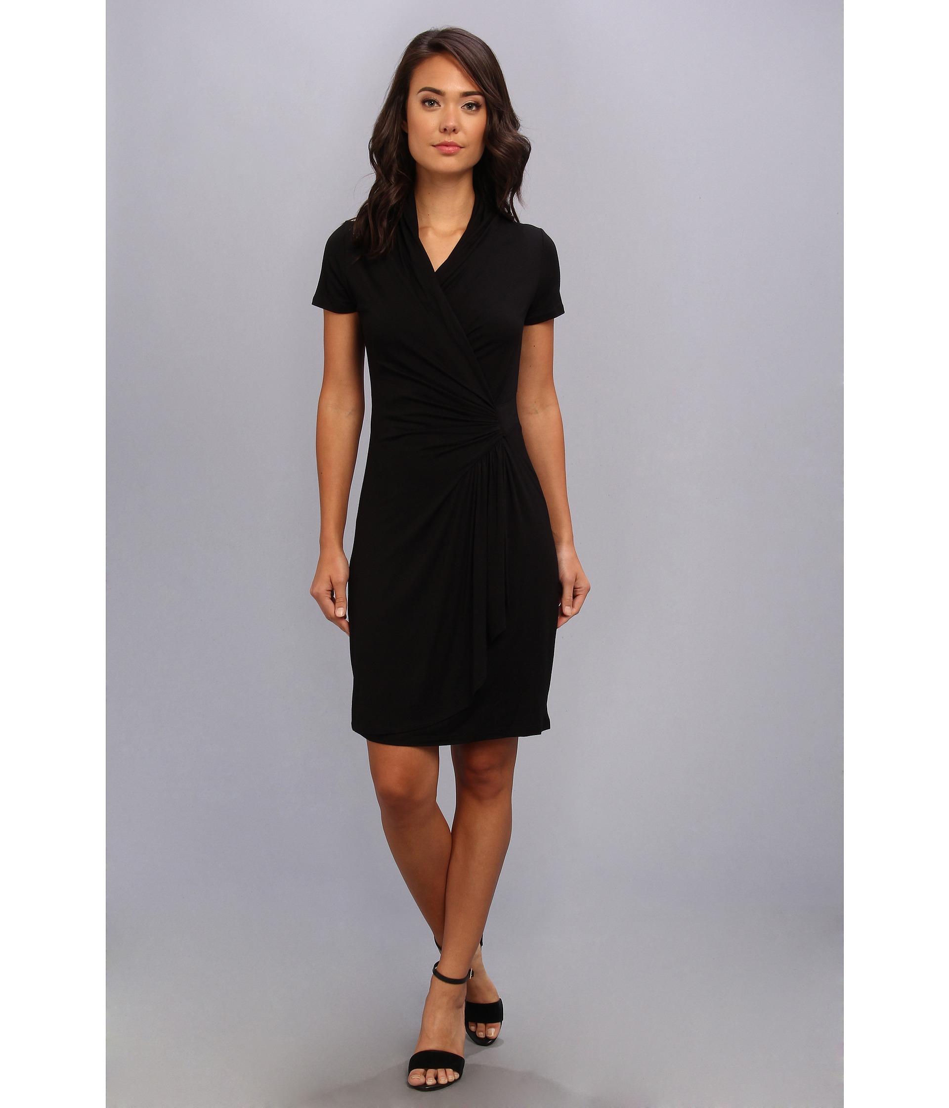 Free shipping BOTH ways on Dresses, Black, Short Sleeve, from our vast selection of styles. Fast delivery, and 24/7/ real-person service with a smile. Click or call