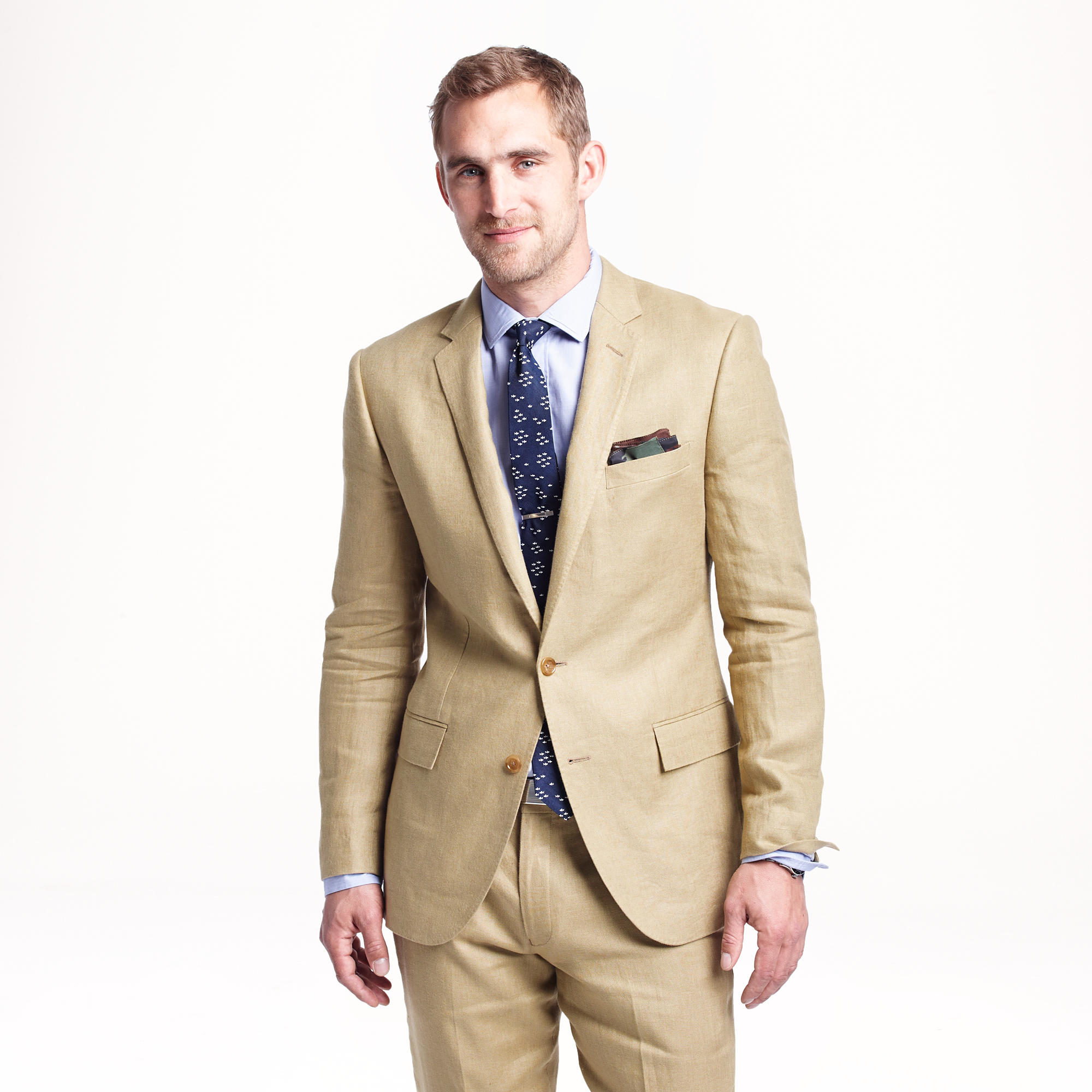 Lyst J Crew Ludlow Suit Jacket In Irish Linen In Natural