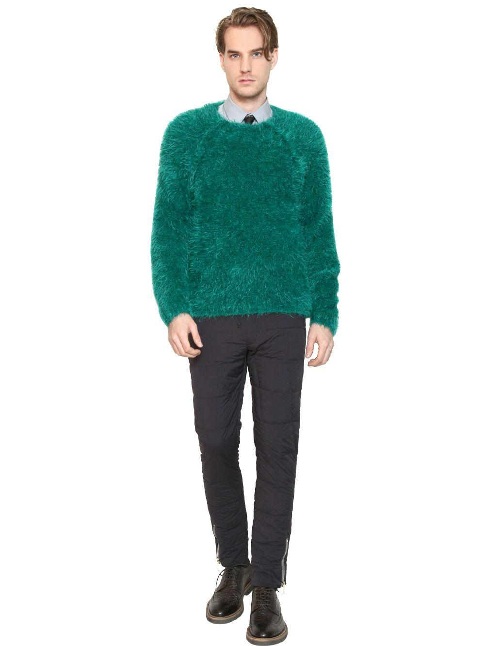 Wool Sweater Furry 45