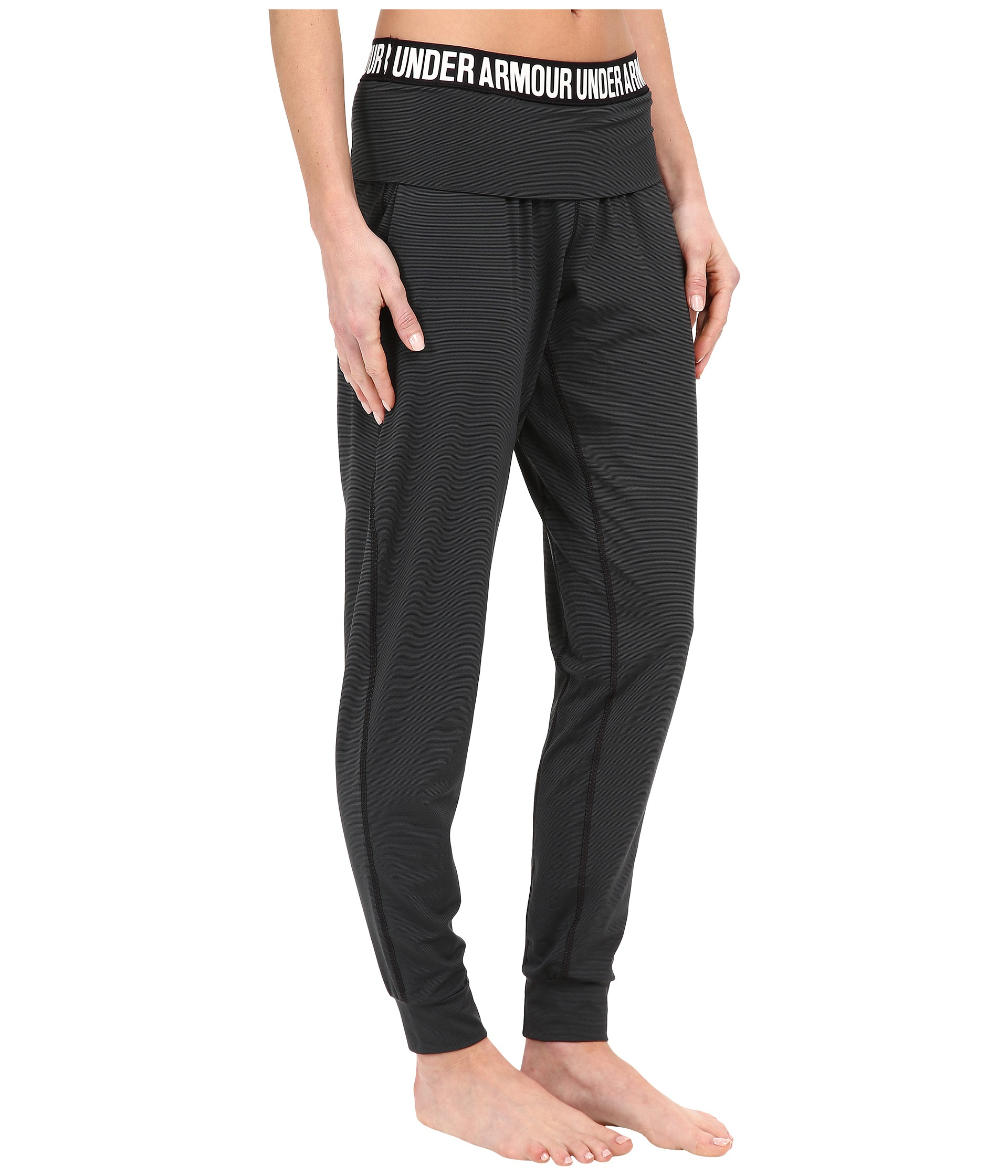 Lyst - Under Armour Ua Downtown Knit Jogger Pants in Black 25210297959b