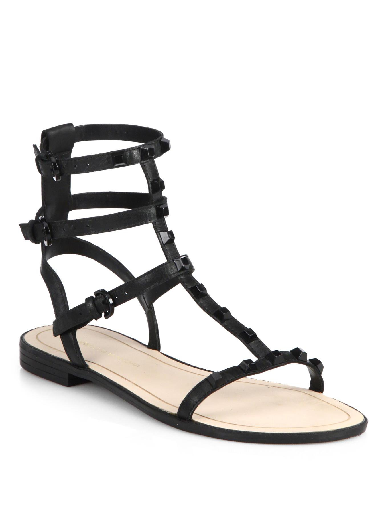 Rebecca Minkoff Stud-Embellished Gladiator Sandals extremely cheap price many kinds of sale online sale comfortable outlet with paypal order online S8dEVo