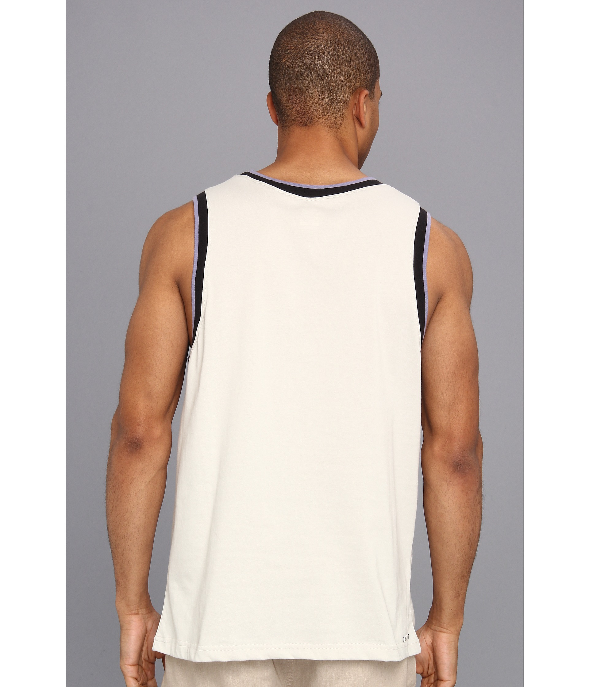 56704b231f9888 Lyst - Nike Sb Varsity Drifit Tank Top in White for Men