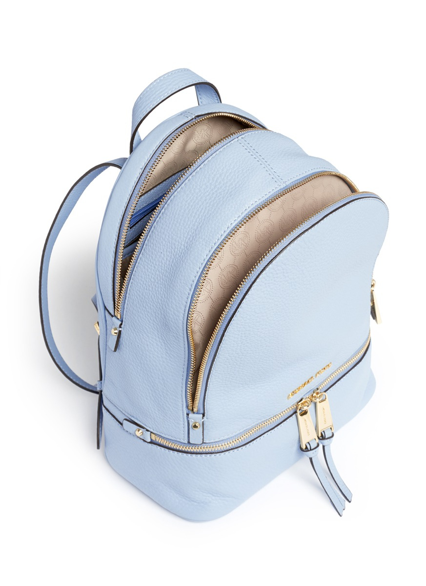798a43573013 ... italy rhea medium leather backpack michael kors b52ff e7d77