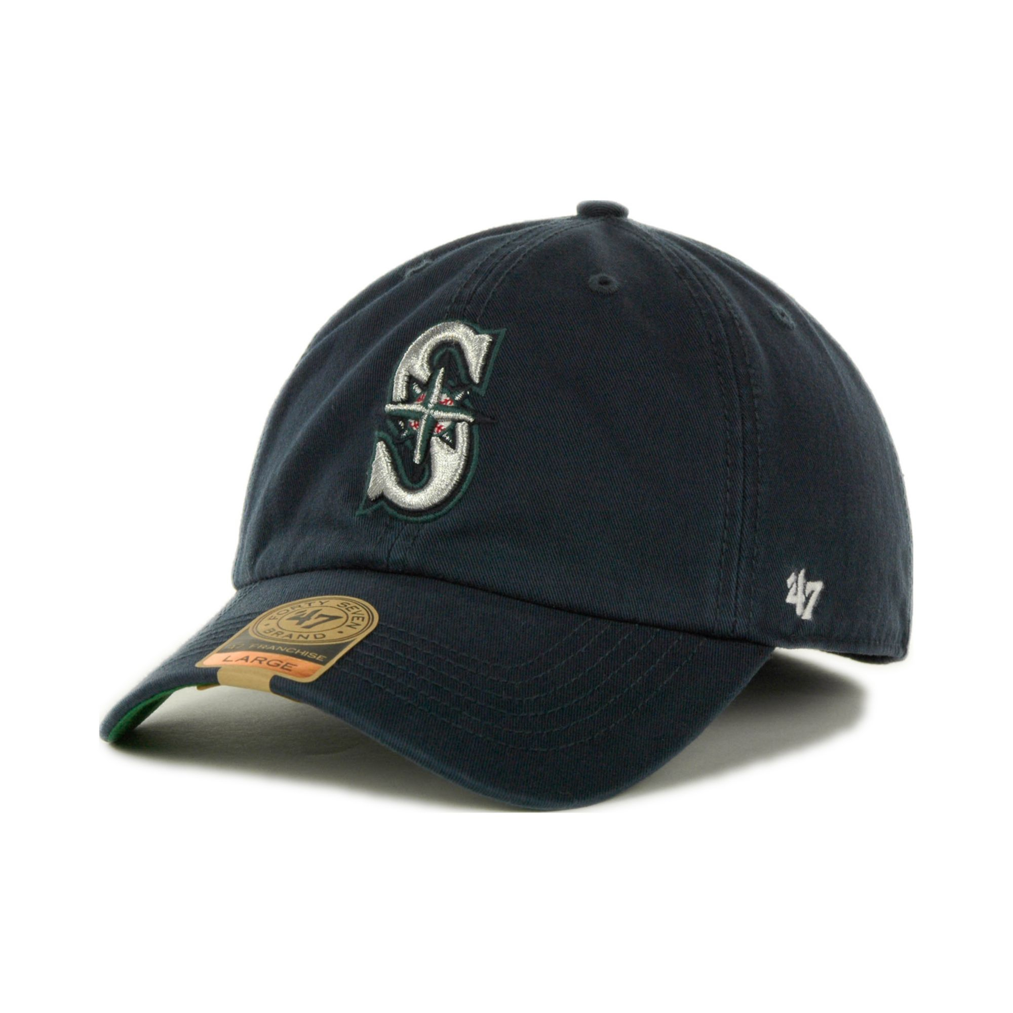 47 brand Seattle Mariners Franchise Cap in Blue for Men ...