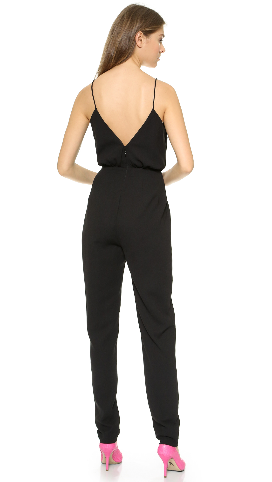298f9814df43 Lyst - Finders Keepers The Someday Jumpsuit - Black in Black