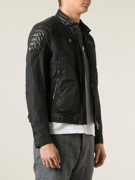 Moncler Salmon Jacket In Black For Men Lyst