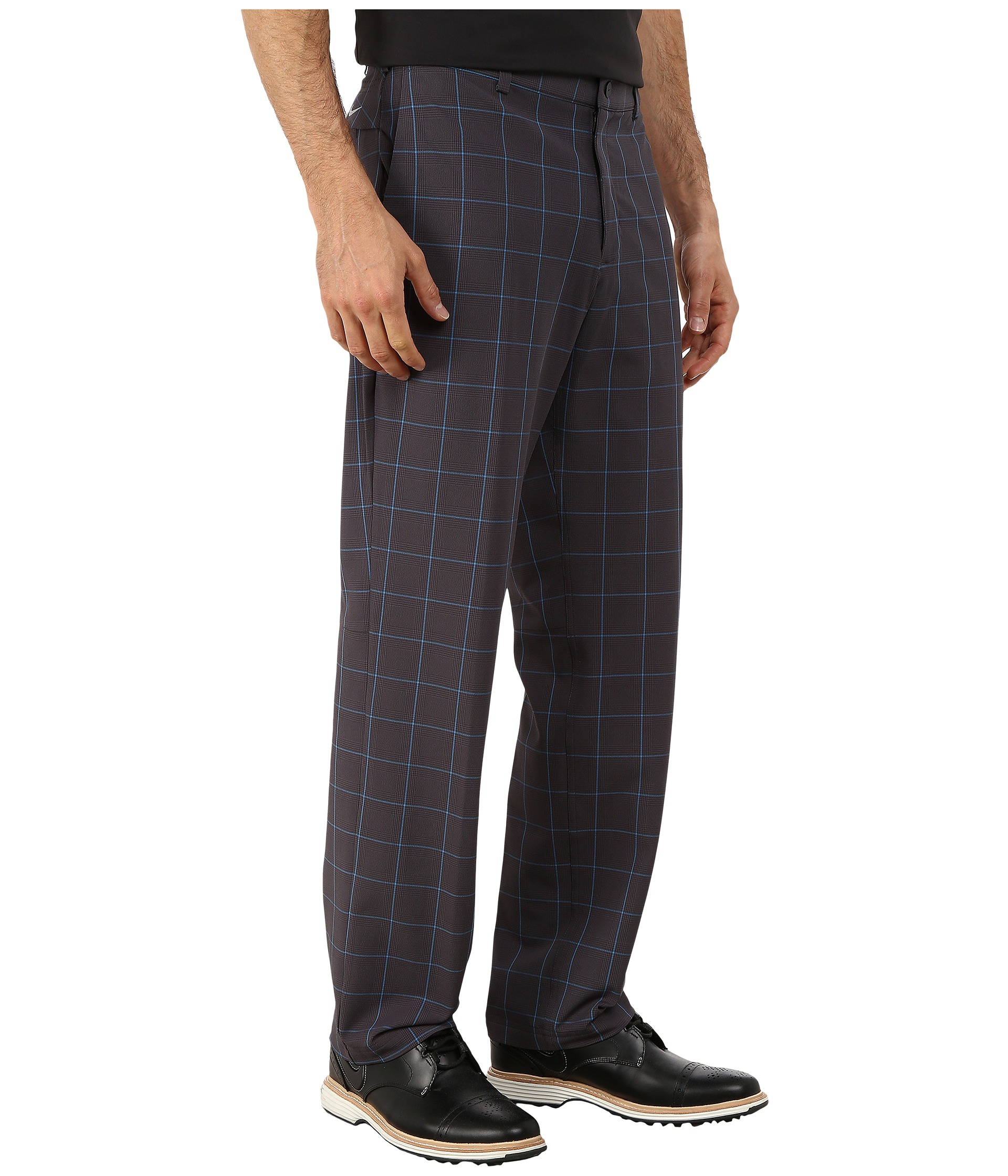 Nike Tiger Woods Weatherized Plaid Pants in Gray for Men | Lyst