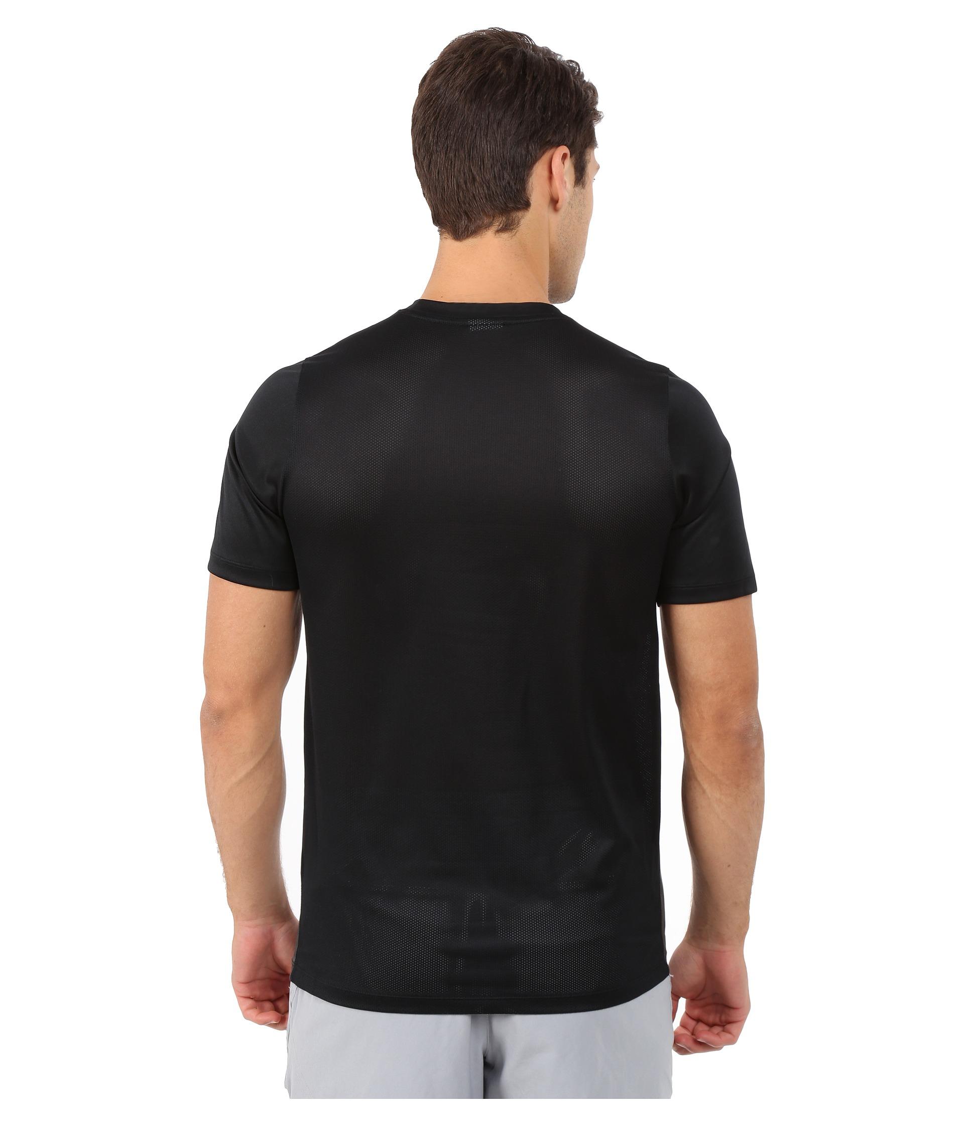 6ba4c69b5d ... half price 7a5d1 e17e3 Lyst - Nike Academy Ss Training Top 1 in Black  for Men ...
