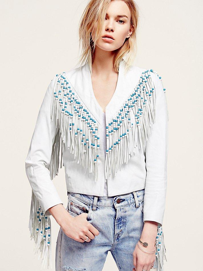 Lyst Free People Spell Womens Hendrix Fringe Leather