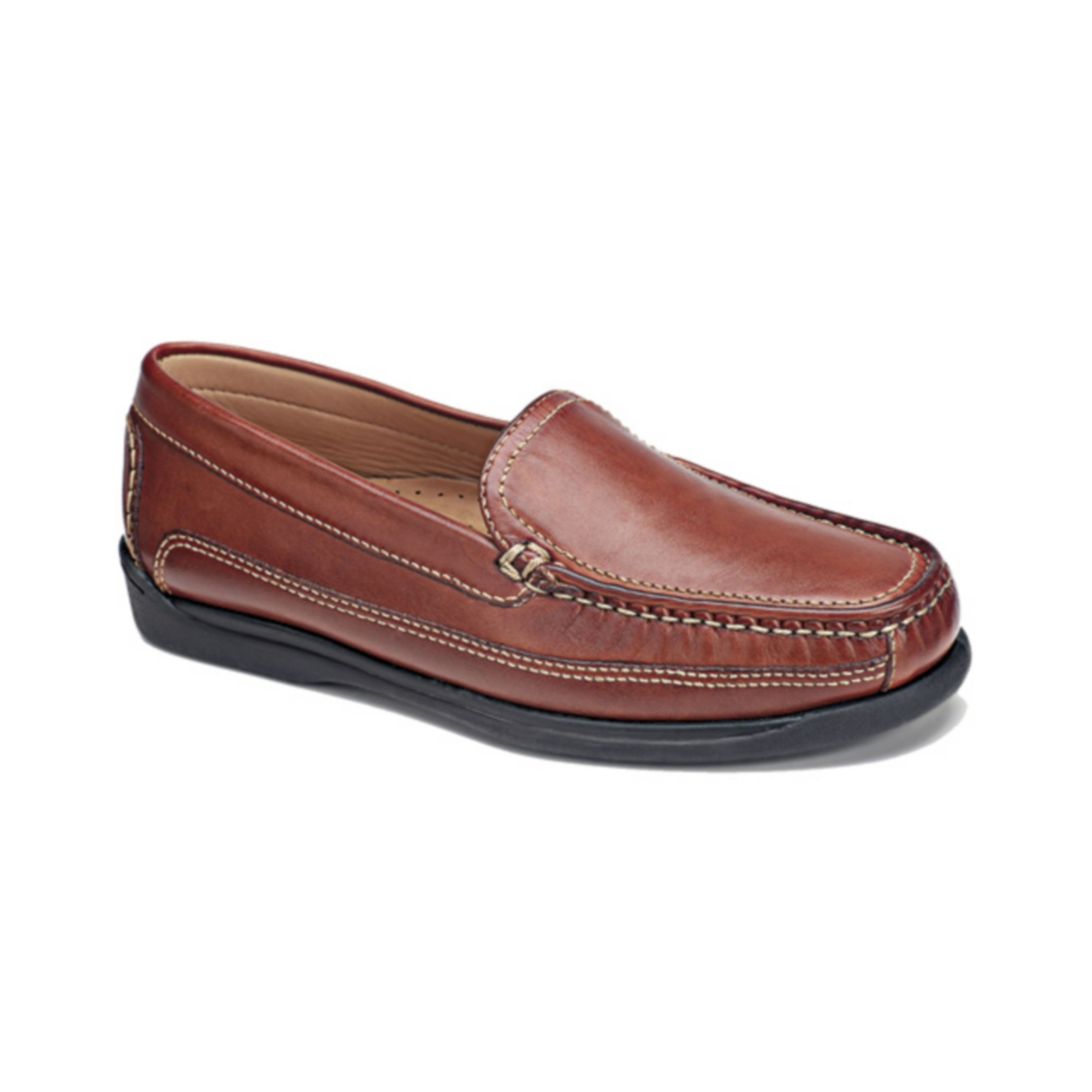 Dockers Catalina Moc Toe Loafers In Brown For Men Saddle