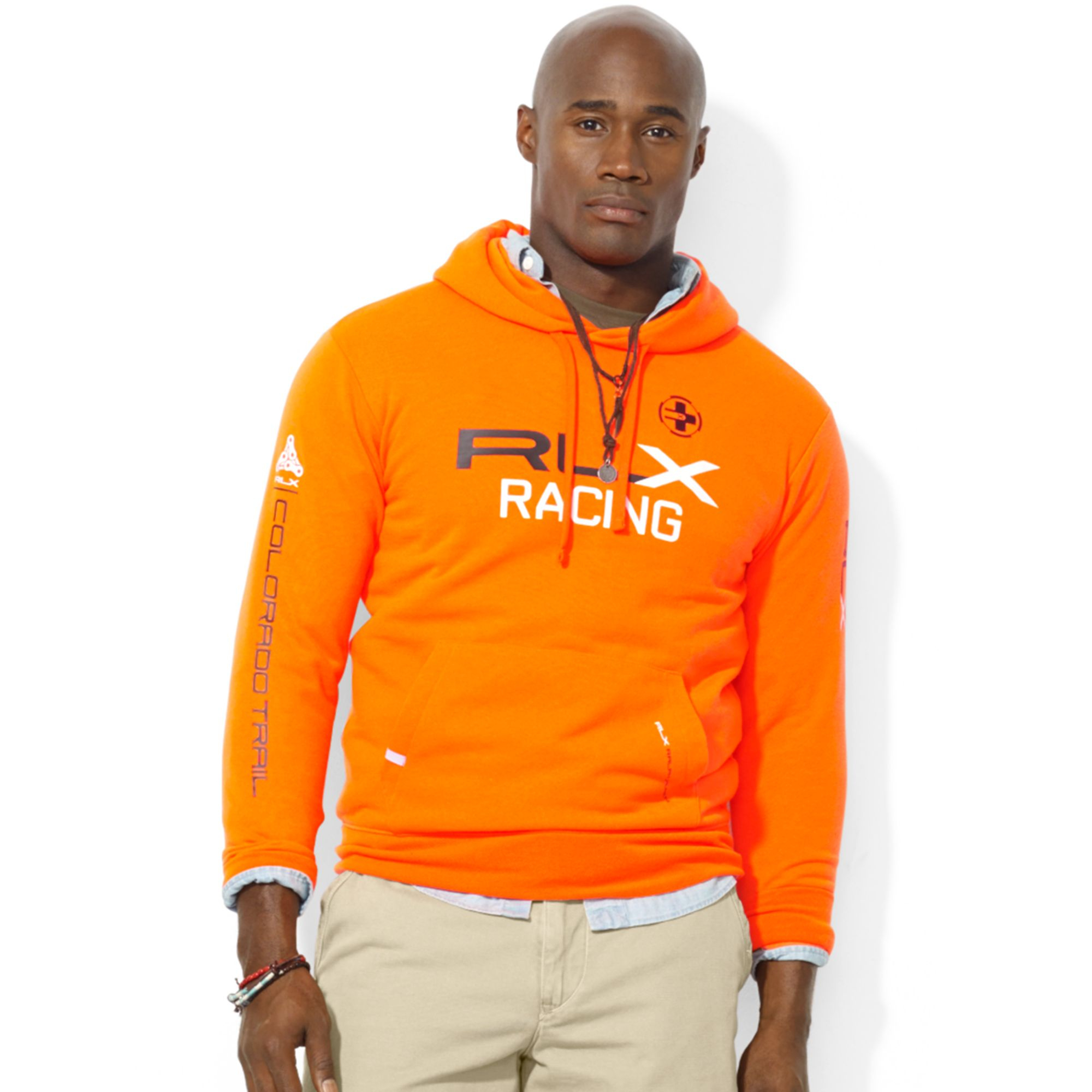 Lyst Ralph Lauren Polo Big And Tall Rlx Fleece Hoodie In